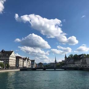 {公關教主于長君} 彩色雁鴨、海鷗與天鵝相伴的蘇黎世湖畔晚餐,敞洋自在美好的瑞士風情 Zurich Switzerland 瑞士蘇黎世
