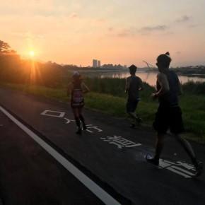 {公關教主于長君} 5AM Running Club晨跑團, 伴隨日出, 慢跑基隆河, 蟲鳴飛鳥, 清新空氣迎接美好一天的開始