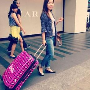 Barbie行李箱