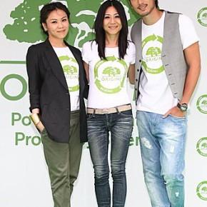 蔡健雅 X ORIGINS品木宣言 X 高以翔 =「Plant A Tree綠活愛地球」