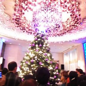聖誕樹點燈 @ 台北怡亨酒店