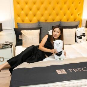 {公關教主 于長君} 一夜好眠 「DeRUCCI慕思」+「法國TRECA Paris」舒適睡眠的好床