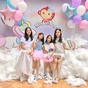 {公關教主于長君} 女孩們心目中的夢幻天地 Monkey Bow猴寶寶手工飾品 與獨角獸漫步在雲朵中